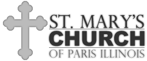 St. Mary's Church – Paris Illinois Logo